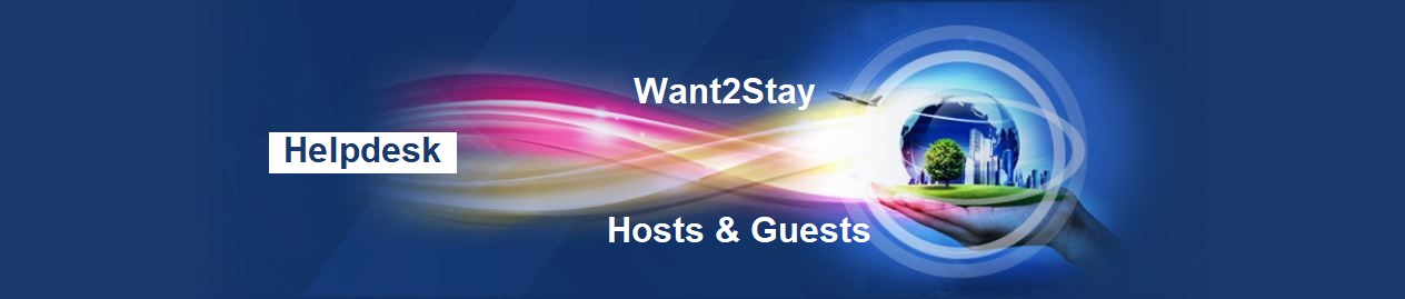 Want2Stay Vacation Accommodation Helpdesk