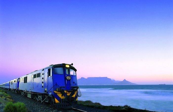 My Blue Train Travels