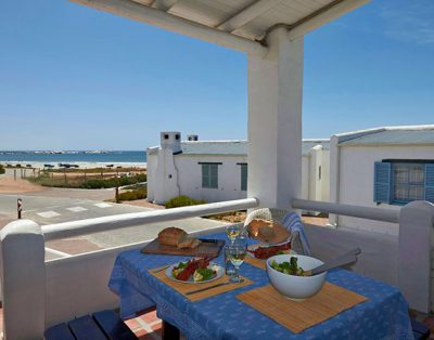 Sea view Getaway accommodation in Paternoster with free wifi